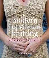 Modern top-down knitting