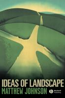 Ideas of landscape