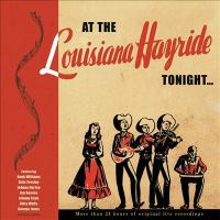 At the Louisiana hayride tonight