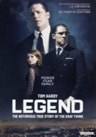 Legend [Videoupptagning] / written & directed by Brian Helgeland ; produced by Tim Bevan ..