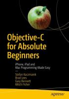 Objective-c for absolute beginners - iphone, ipad and mac programming made