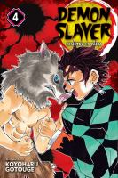 Demon slayer: Volume 4 Robust blade