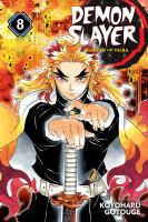 Demon slayer: Volume 8 The strength of the hashira